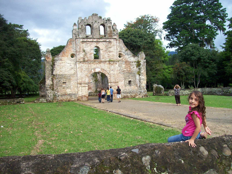church ruins in Costa Rica